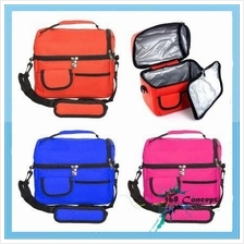 Picnic Outdoor Travel Waterproof Nylon Shoulder Cooler Bag