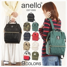 ANELLO JAPAN 2016 NEW Polyester Canvas Casual Backpack (with Zip))