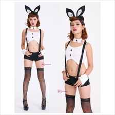 [FlashSales] Cool Sexy Bunny Costume Cosplay Lingerie Nightwear L3091