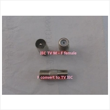 Connector F female to IEC TV make