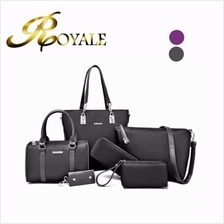 6 in 1 Nylon Leisure Handbag / Shoulder Bag