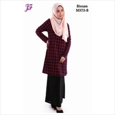 Elena Printed Blouse with Skirt M373S
