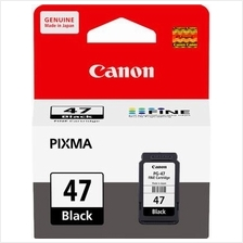 Canon PG-47 Black Fine Cartridge (Genuine) E400 E460 E480