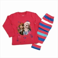 [GS] Caluby Frozen Floral Rose Pyjamas for Children Age 2 to 7