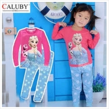 [GS] Caluby Frozen Elsa Olaf Pyjamas for Children Age 2 to 7