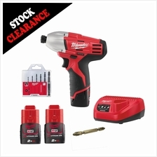 Milwaukee cordless Impact Driver 1/4'''' C12ID-152C combo set W/ Drill Screw Bit