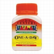 21st CENTURY ONE-A-DAY BALANCED MULTIVITAMIN & MINERAL FORMULA