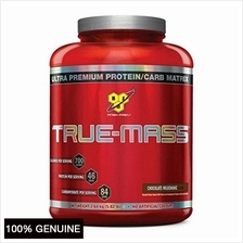 BSN True Mass, Chocolate Milkshake, 5.82lbs (Weight Gainer)