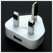 3-pin Universal USB Port 1A Wall Charger Power Adapter Socket Plug