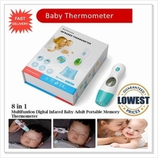 8 In 1 Baby Adult Infrared Non-touch Ear Forehead Digital Thermometer