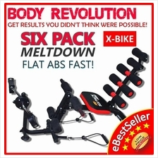 NEW X-BIKE Gym AB Six Packs Care Total Body Gym Station Exercise Bike