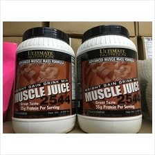 Muscle Juice 5lbs X 2 (Total 10lbs)Mass Weight Gainer Protein