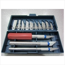 13 Pieces Hobby Knife Scalpel Box Set