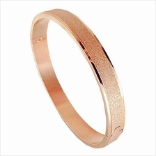 YOUNIQ Sand Beach 18K Rosegold Titanium Bangle