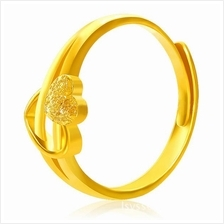 YOUNIQ Premium Cupid 24K Gold Plated Ring