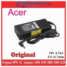 Original Acer Delta ASPIRE 1680 1690 3000 3500 3620 3680 AC Adapter
