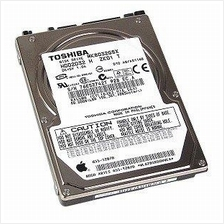 TOSHIBA 80GB 2.5' SATA 5400 RPM HARD DISK (USED)