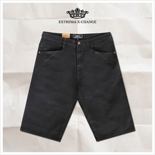 EXTREMA Stretchable Short Jeans Black EX585