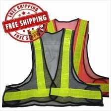Safety Vest FX -010 Security Yellow Reflective Stripes Jacket V series