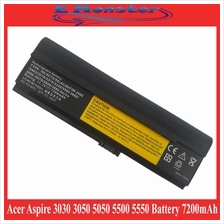 Acer Aspire 3030 3050 3200 3600 3680 5050 5500 5550 9 Cell Battery