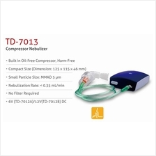URIGHT Compressor Nebulizer (Able to Power Up Using USB to AC)