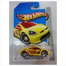 Hot Wheels Diecast - Mitsubishi Eclipse Concept Car NEW