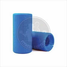 Fitness Gym Fat Gripz Barbell Olympic Bar Hand Grip (Blue) (2 units)