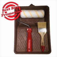Paint Roller 443# with Brush 95# 2 1/2'''' Paint Tray Starter Set