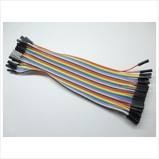 40p Dupont Wire Color Jumper Cable Female to Female 20cm Arduino
