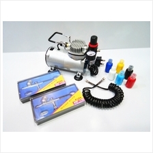 Touch DIY Filter Touch Airbrush Compressor with 6 Colors Package