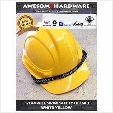 STARWILL PROGUARD SIRIM INDUSTRIAL SAFETY HELMET YELLOW WHITE
