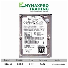 NEW Hitachi 80Gb SATA 2.5' Laptop Notebook Hard Disk Replace 160Gb