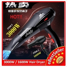 3000W/1600W Professional Beauty Salon Hair Dryer + FREE CONCENTRATION