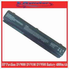 HP Pavilion dv9000 dv9100 dv9200 dv9500 Battery 8 cell 4800mAh