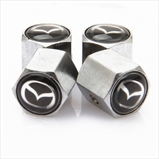 WEIYU Anti theft Chrome Tire Valve Caps For MAZDA NISSAN AUDI