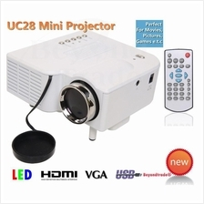 UC28+ UNIC Portable Mini LED Projector