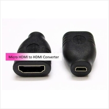 Female Micro HDMI to Female HDMI converter