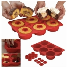 Cupcake Silicone Mould - Shh,bake a secret inside!
