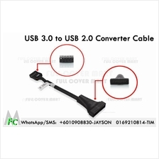 USB 3.0 Male to USB 2.0 Female Converter Cable