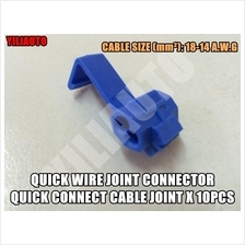 Quick Wire Joint Connector Quick Connect Cable Joint 10pcs 18-14 A.W.G
