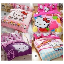 Bedsheet Hello Kitty suitable 1.2m bed with quilt cover (1566)