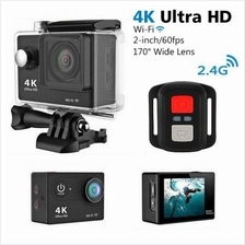 H9R Remote Control 2-Inch LCD Ultra-HD 4K Wifi Sports Action Camera