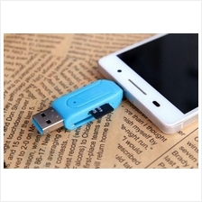 Mini OTG USB Card Reader Adapter For Android Smart phone OTG Card read