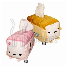 Original Manjukun Large Toast Tissue Box Cover