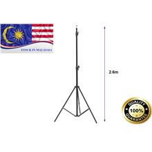 2.6M Light Stand Tripod For Photo Studio Video Lighting