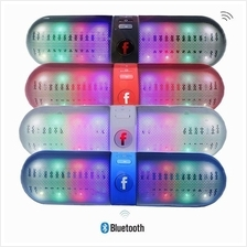 LED Bluetooth Speaker Support U-disk and TF Card FM Stereo