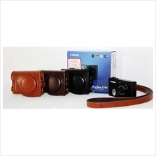 Leather Case for Canon Powershot S110 (3073)