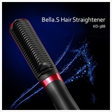 Bella.S Professional Magic Comb Hair Straightener Brush Beautiful Star