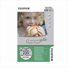 Genuine Fujifilm A4 Premium Inkjet Glossy Photo Paper 235g (20 sheets)