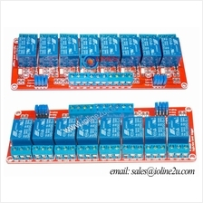 8 Channel 12V Optocoupler isolated Relay Module board terminal H/L TTL